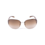 Authentic Second Hand Prada Half-Rimmed Sunglasses (PSS-624-00003) - Thumbnail 4