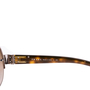 Authentic Second Hand Prada Half-Rimmed Sunglasses (PSS-624-00003) - Thumbnail 6