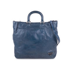Vitello Shine Shopper Bag