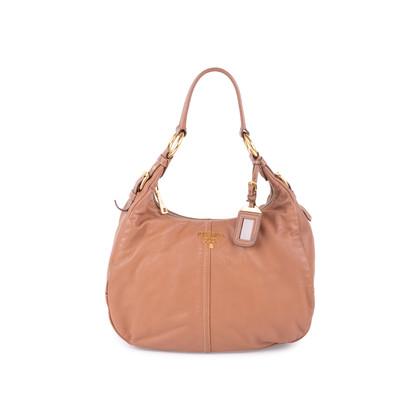 Authentic Second Hand Prada Soft Calf Shoulder Bag (PSS-624-00005)
