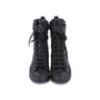 Authentic Pre Owned Ann Demeulemeester Double Zip Combat Boots (PSS-628-00006) - Thumbnail 0