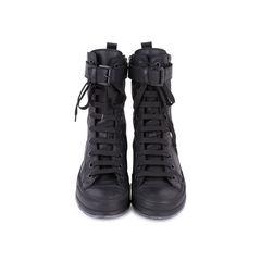 Double Zip Combat Boots