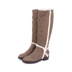 Fendi suede shearling boots brown 2?1552366507