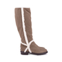 Authentic Second Hand Fendi Suede Shearling Boots (PSS-628-00007) - Thumbnail 2
