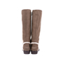 Authentic Second Hand Fendi Suede Shearling Boots (PSS-628-00007) - Thumbnail 3