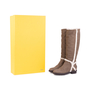 Authentic Second Hand Fendi Suede Shearling Boots (PSS-628-00007) - Thumbnail 5