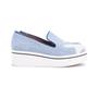 Authentic Pre Owned Stella McCartney Binx Star Denim Platform Slip-On Sneakers (PSS-626-00020) - Thumbnail 1