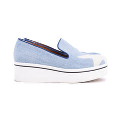 Stella mccartney binx star denim pkatform slip on sneakers 2?1552468756