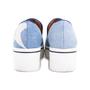 Authentic Pre Owned Stella McCartney Binx Star Denim Platform Slip-On Sneakers (PSS-626-00020) - Thumbnail 2