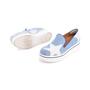 Authentic Pre Owned Stella McCartney Binx Star Denim Platform Slip-On Sneakers (PSS-626-00020) - Thumbnail 3