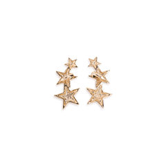 Kenneth jay lane triple star clip on earrings 2?1552469079