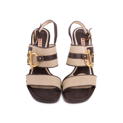 Authentic Second Hand Marni Open-Toe Sandals (PSS-626-00010)