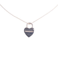 Tiffany co naughty and nice heart lock pendant necklace 2?1552469351