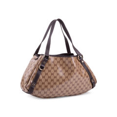 Gucci gg monogram tote brown 2?1552470146
