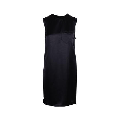 Authentic Second Hand Alexander Wang Shift Dress with Draped Back (PSS-626-00025)