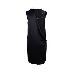 Alexander wang shift dress with draped back 2?1552538298