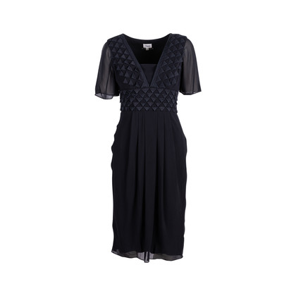 Authentic Pre Owned Temperley London Triangle Appliqué Dress (PSS-626-00026)