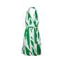 Authentic Pre Owned Diane Von Furstenberg Printed Halter Wrap Dress (PSS-626-00027) - Thumbnail 0