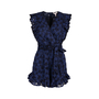 Authentic Second Hand Rebecca Taylor Adriana Eyelet Ruffle Romper (PSS-424-00144) - Thumbnail 0