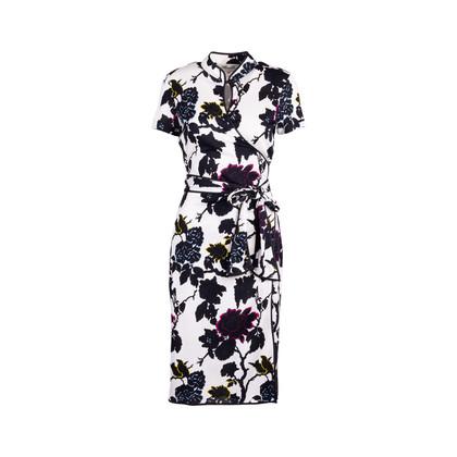 Authentic Second Hand Diane Von Furstenberg Nicole Wrap Dress (PSS-424-00146)