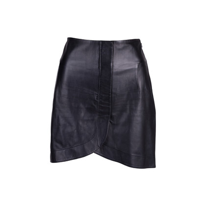 Authentic Second Hand Balenciaga Lambskin Mini Skirt (PSS-424-00149)
