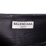 Authentic Second Hand Balenciaga Lambskin Mini Skirt (PSS-424-00149) - Thumbnail 2