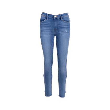 Authentic Pre Owned Frame Le High Skinny Jeans (PSS-424-00151)