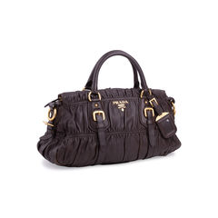 Prada tessuto gauffre bag brown 2?1552550311