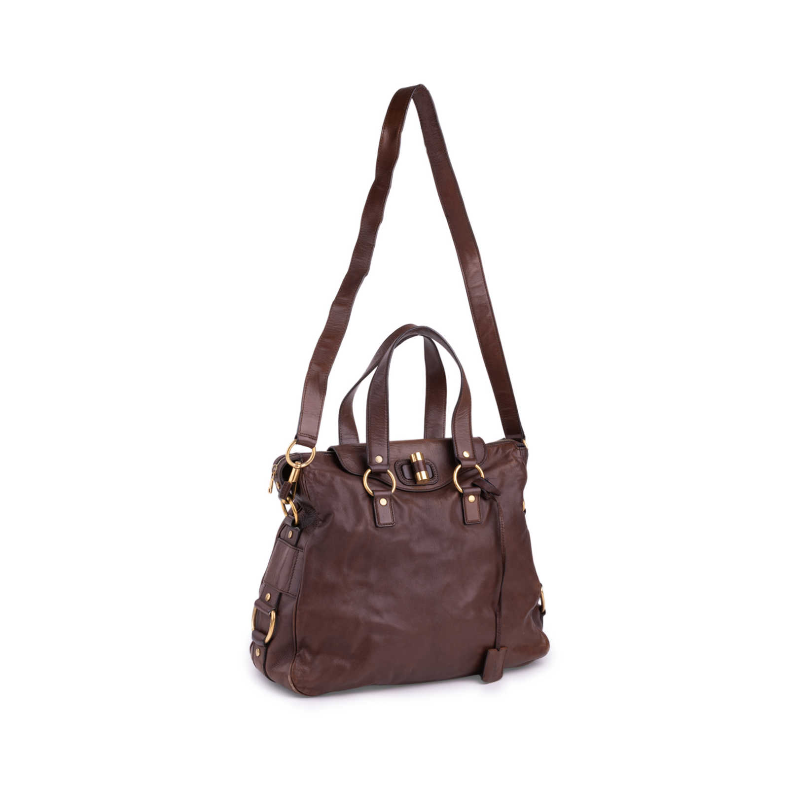 74138a1d477 ... Authentic Second Hand Yves Saint Laurent Muse Messenger Bag  (PSS-521-00019) ...