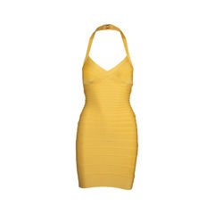 Halter Neck Bandage Dress