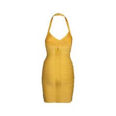 Herve leger halter neck bandage dress 2?1552550998