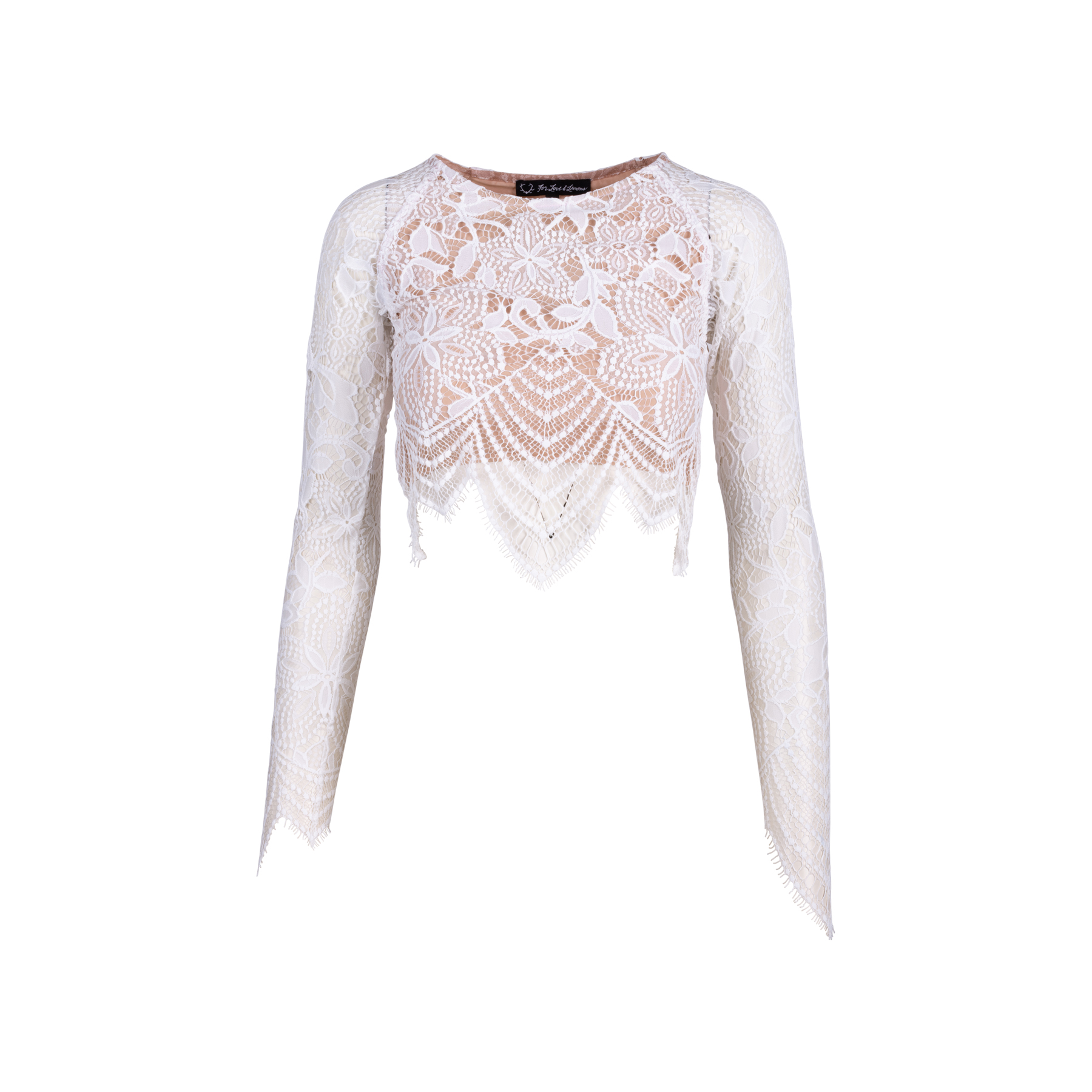 accd6aef599 Authentic Second Hand For Love and Lemons Guava Crop Top (PSS-521-00008) -  THE FIFTH COLLECTION
