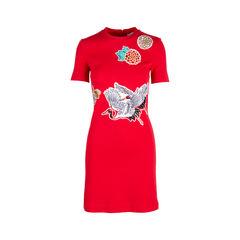 Appliqué Dress