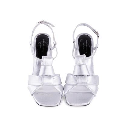 Authentic Second Hand Dries Van Noten Twist Front Sandals (PSS-247-00121)