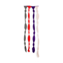 Authentic Second Hand Missoni Knit Strip Skinny Scarf (PSS-247-00122) - Thumbnail 1