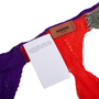 Authentic Second Hand Missoni Knit Strip Skinny Scarf (PSS-247-00122) - Thumbnail 3