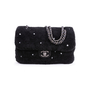 Authentic Second Hand Chanel Shearling Pearl Flap Bag (PSS-034-00041) - Thumbnail 0