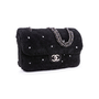 Authentic Second Hand Chanel Shearling Pearl Flap Bag (PSS-034-00041) - Thumbnail 1