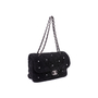 Authentic Second Hand Chanel Shearling Pearl Flap Bag (PSS-034-00041) - Thumbnail 4