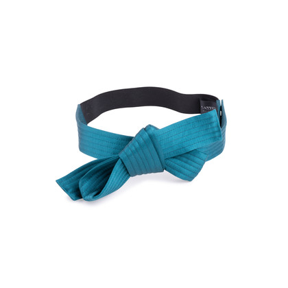 Authentic Second Hand Lanvin Satin Bow Belt (PSS-034-00046)