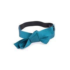 Satin Bow Belt