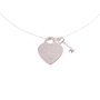 Authentic Second Hand Tiffany & Co Heart Tag With Key Pendant (PSS-637-00001) - Thumbnail 0