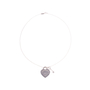 Authentic Second Hand Tiffany & Co Heart Tag With Key Pendant (PSS-637-00001) - Thumbnail 1