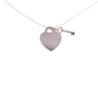 Authentic Second Hand Tiffany & Co Heart Tag With Key Pendant (PSS-637-00001) - Thumbnail 2