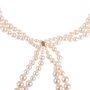 Authentic Second Hand Chanel Multi Strand Faux Pearl Necklace (PSS-637-00003) - Thumbnail 2