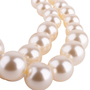 Authentic Second Hand Chanel Multi Strand Faux Pearl Necklace (PSS-637-00003) - Thumbnail 3