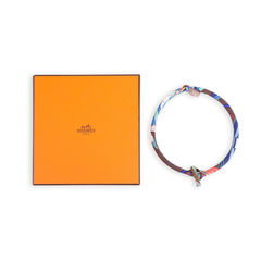 Hermes silk petit h necklace 2?1552970541