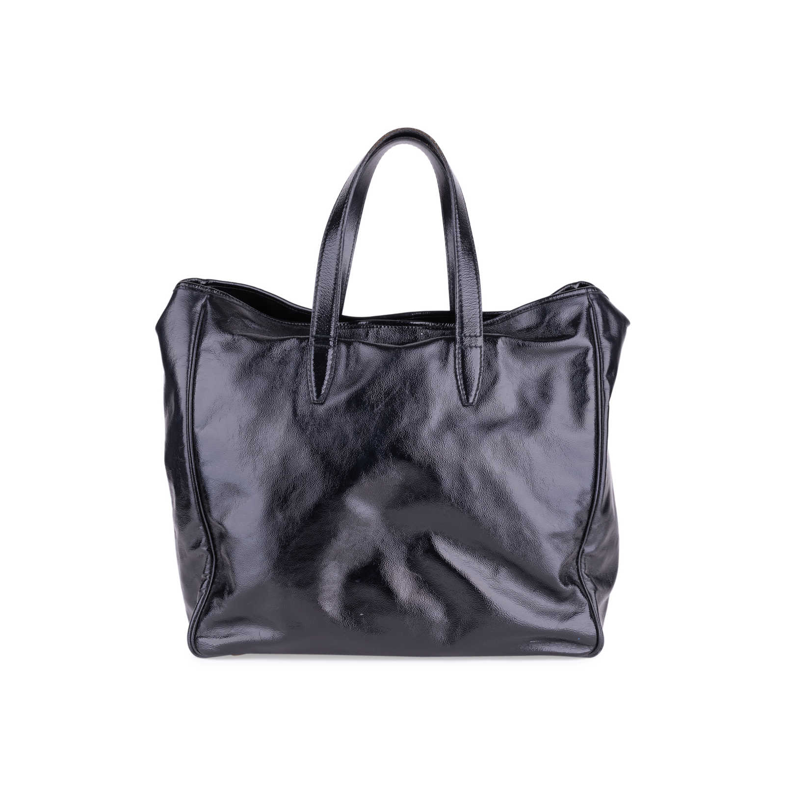 910df600a3b ... Authentic Second Hand Yves Saint Laurent Large Y-Mail Tote (PSS-637- ...