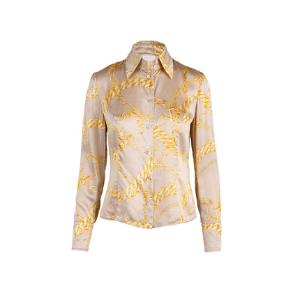 Authentic Second Hand Valentino Silk Printed Shirt (PSS-637-00015)