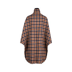By malene birger wool checked cape 2?1553056340